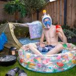 Hans Buurman, Niederlande - Urlaub im eigenen Garten